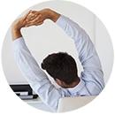 Como Relaxar e Evitar Dores Musculares no Trabalho